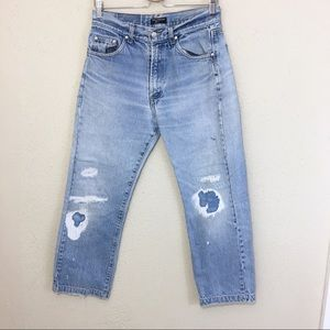 Dolce & Gabbana Jeans High Waisted Distressed 32